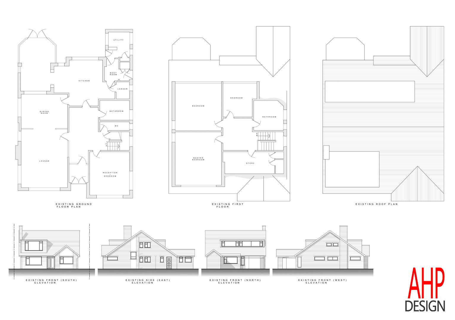 4 bedroom bungalow blackpool existing plans