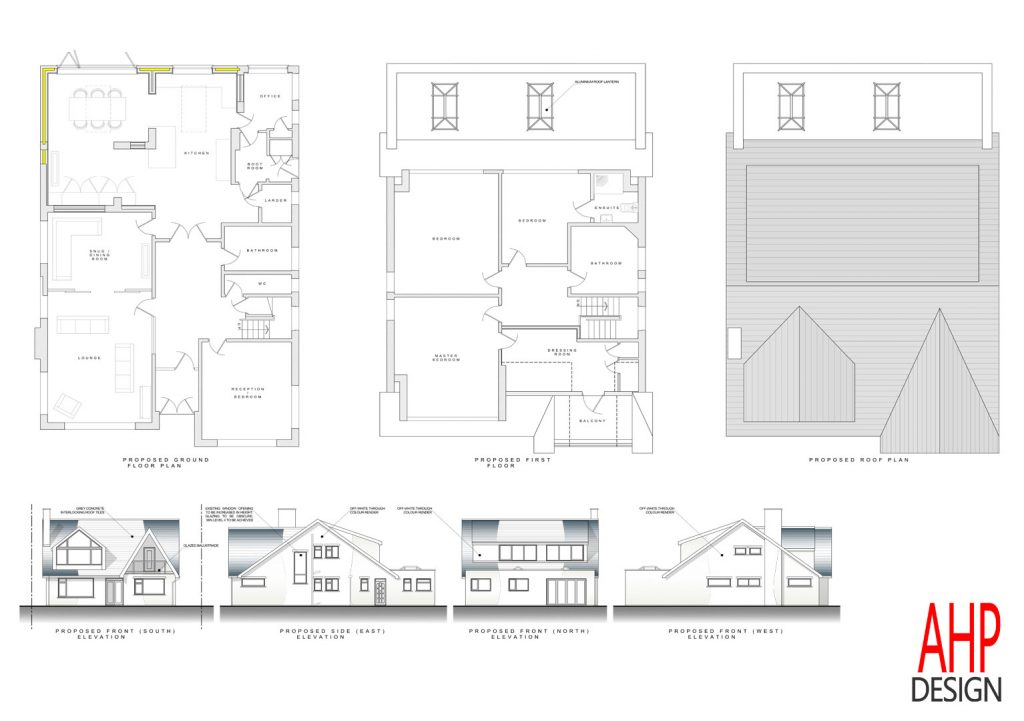 4 bedroom bungalow blackpool proposed plans