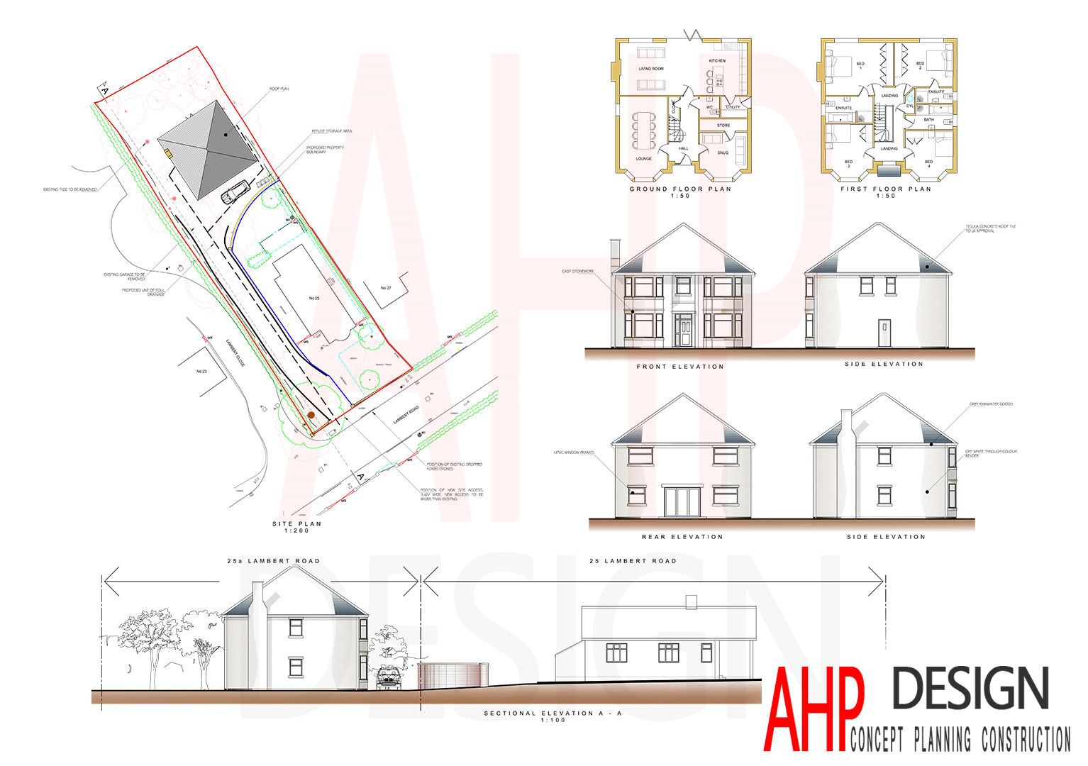 Proposed Plans and Elevations Preston