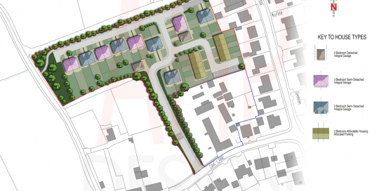 Proposed Site Plan Fylde