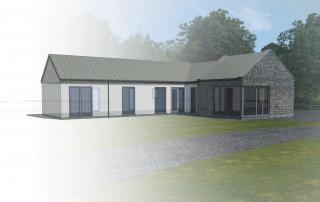 Modern New Build Cottage