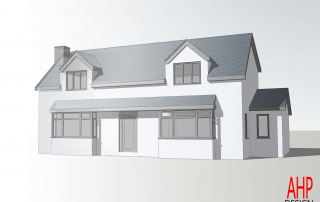 The Square, Thornton-Cleveleys Sketch-Render