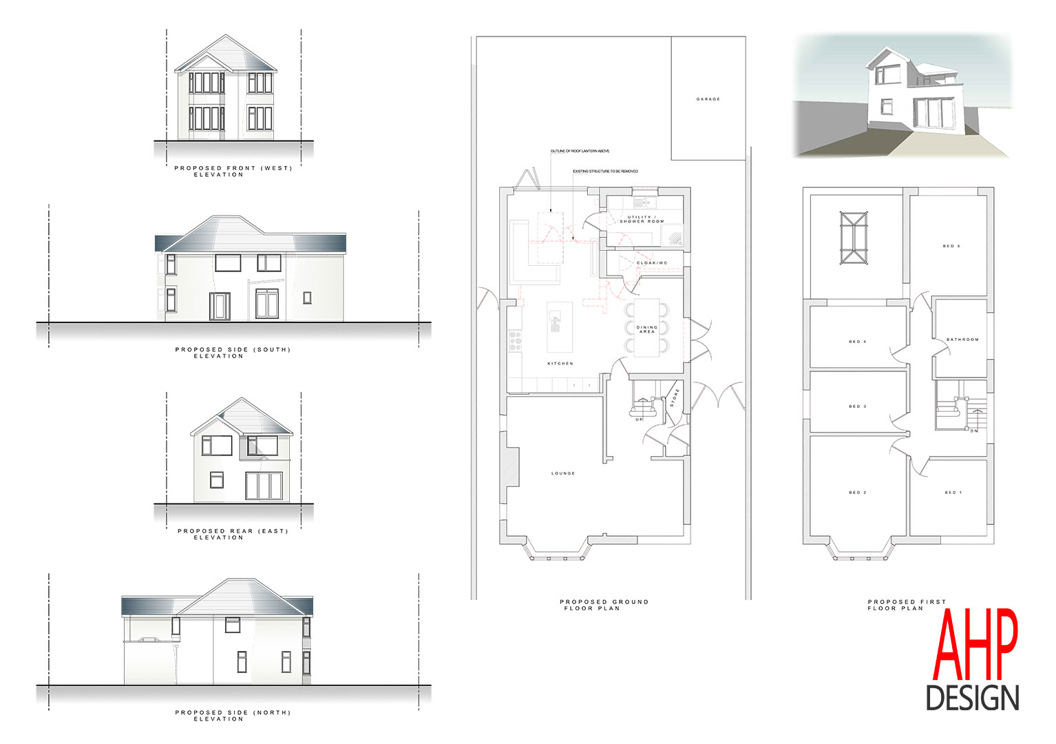 Detached house blackpool proposed plans