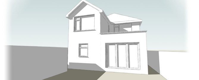 Detached House Rear Extension