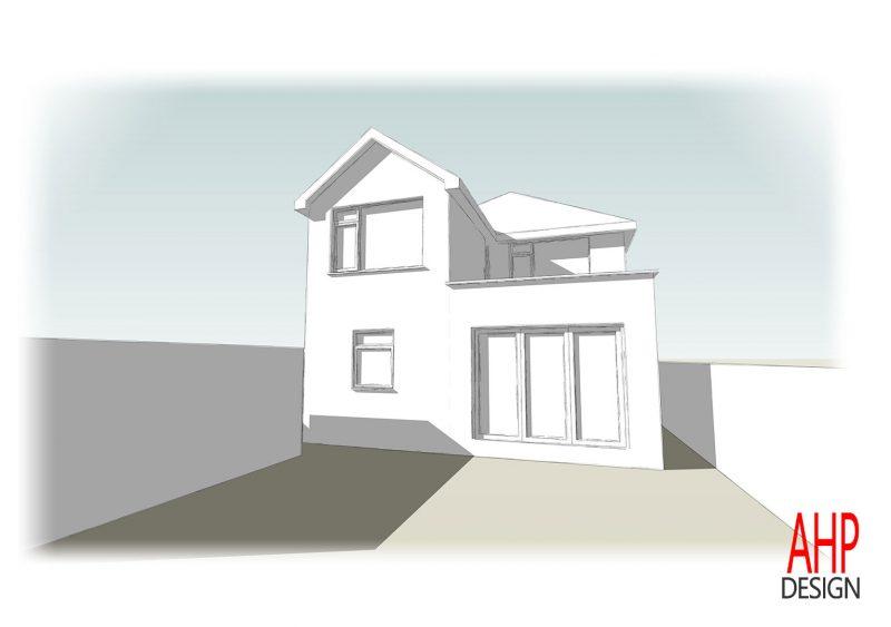 Detached House Rear Extension