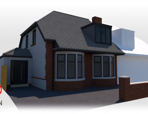 Planning Application Submitted – Extension to Semi Detached Dormer Bungalow, Blackpool