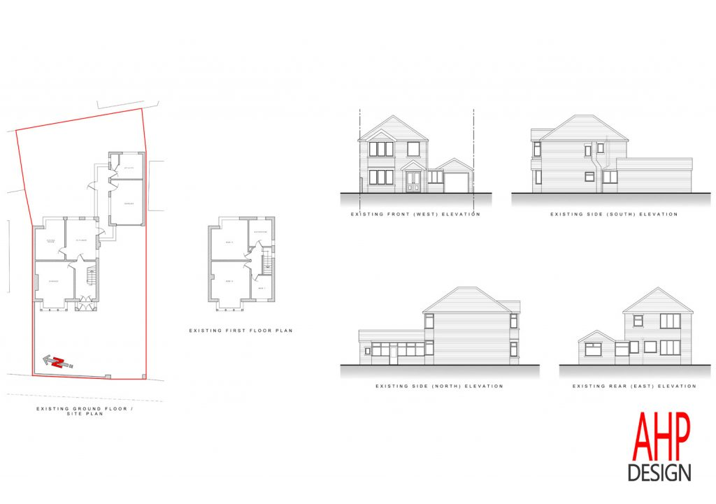 Existing Plans and Elevations