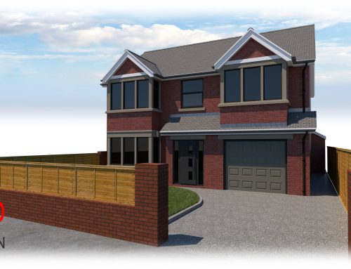 Planning Application Submitted – Two-Storey Side Extension to Detached Home, Thornton-Cleveleys